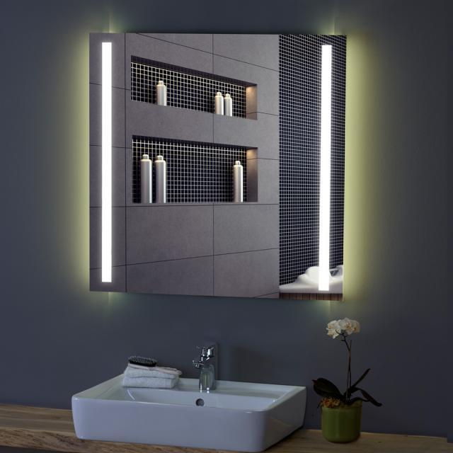 Zierath Tiber Lichtspiegel mit LED-Beleuchtung Lichtfarbe neutralweiß