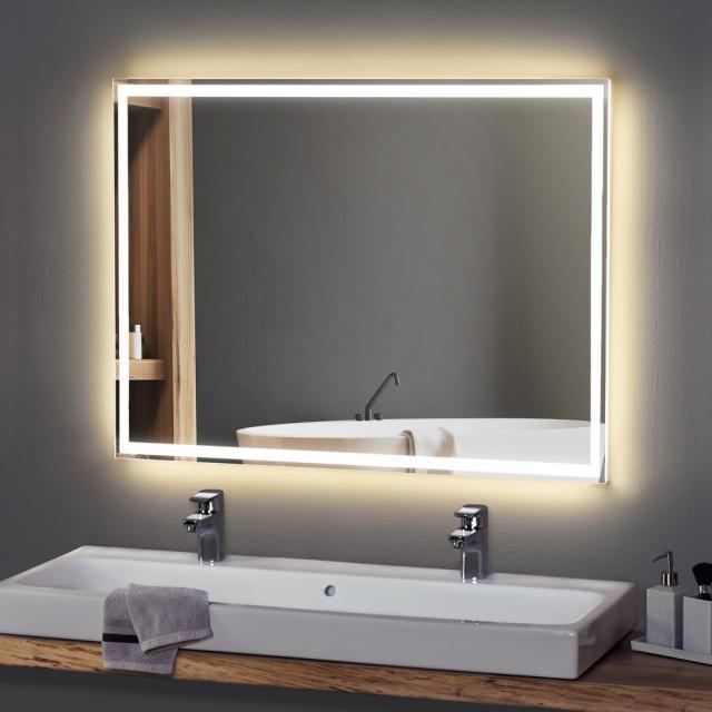 Zierath Visum Lichtspiegel mit LED-Beleuchtung Lichtfarbe neutralweiß