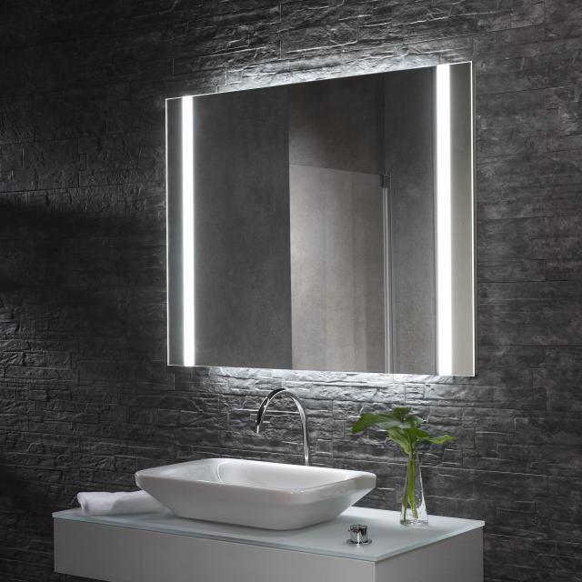 Zierath YourStyle Lichtspiegel mit LED-Beleuchtung mit Sensorschalter