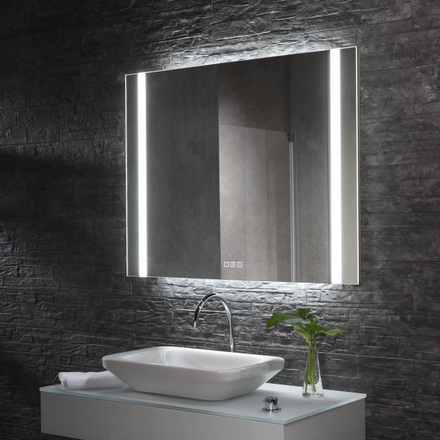 Zierath YourStyle Pro S 2.0 Deluxe Lichtspiegel mit LED-Beleuchtung