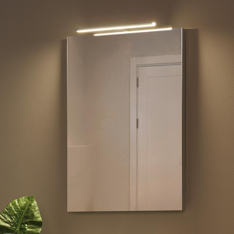 klemmlampe spiegel free interesting glas wrfel spiegel led modern chrom bad badlampe badleuchte. Black Bedroom Furniture Sets. Home Design Ideas