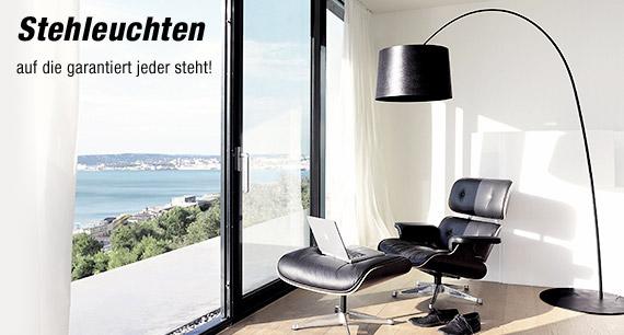 stehleuchten stehlampen f r innen reuter onlineshop. Black Bedroom Furniture Sets. Home Design Ideas