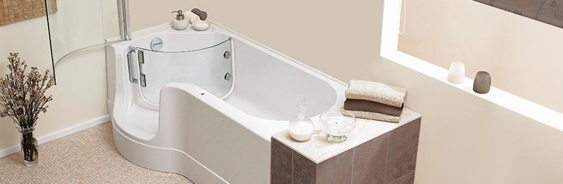 Badewanne preis  Begehbare Wannen - Badewanne mit Tür kaufen bei REUTER