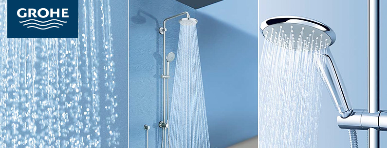 grohe duschsysteme g nstig kaufen reuter onlineshop. Black Bedroom Furniture Sets. Home Design Ideas