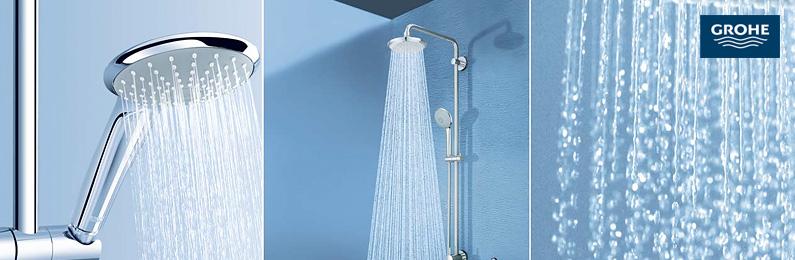 Grohe duschsysteme g nstig kaufen reuter onlineshop - Glasduschwand reinigen ...