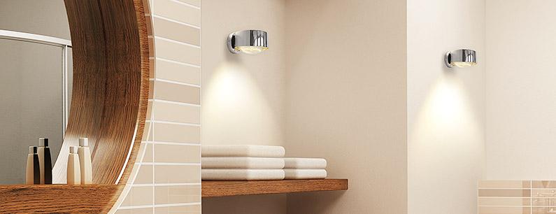 badleuchten badbeleuchtung reuter onlineshop. Black Bedroom Furniture Sets. Home Design Ideas