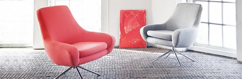 Designer-Relaxsessel lässt sich wie eine Schubkarre ...