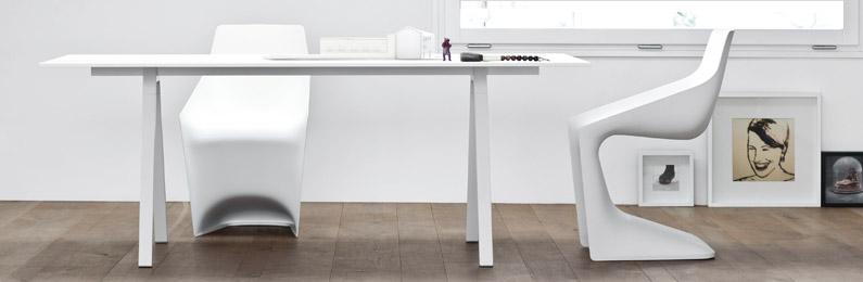 6 Esszimmerstühle, Weiß, Plastik, Metall. Design Stuhl: Edle Designstühle  Günstig Kaufen Bei REUTER