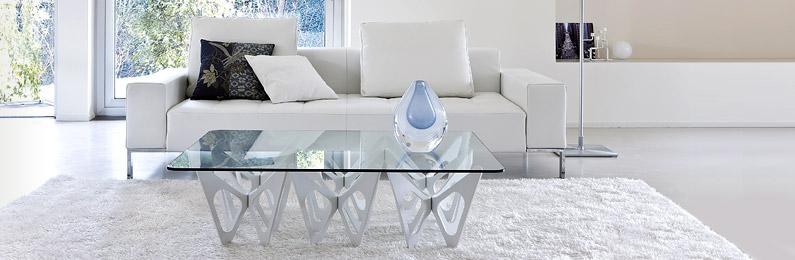 Design Glastische für Wohnzimmer & Esszimmer bei REUTER